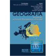 Geografia Romaniei, a Uniunii Europene si a Europei - Teste grila