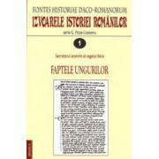 Izvoarele istoriei romanilor - Fontes historiae Daco-Romanorum (4 vol.)