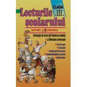 Lecturile scolarului clasa a III-a - Antologie de texte din literatura româna si cea universala