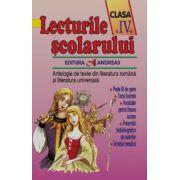 Lecturile scolarului clasa a IV-a - Antologie de texte din literatura româna si cea universala