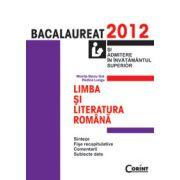 Limba si literatura romana - Bacalaureat 2012