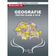 Memorator de geografie clasa a XII-a