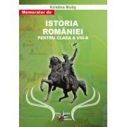 Memorator de Istoria Romaniei pentru clasa a VIII-a