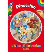 Citim si coloram - Pinocchio