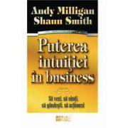 Puterea intuitiei in business - Sa vezi, sa simti, sa gandesti, sa actionezi
