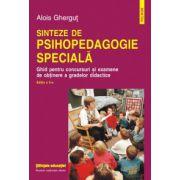 Sinteze de psihopedagogie speciala - Ghid pentru concursuri si examene de obtinere a gradelor didactice
