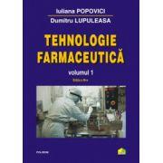 Tehnologie farmaceutica - Vol. 1