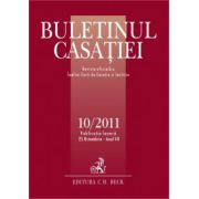 Buletinul Casatiei, Nr. 10/2011