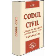 Codul civil Legea Nr.287/2009 privind Codul civil - Republicat