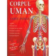 Corpul uman - Carte puzzle