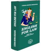 English for law Editia a II-a revazuta si adaugita