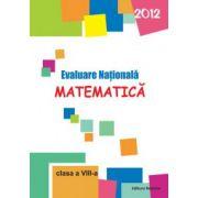Evaluare nationala - Matematica 2012