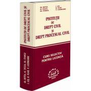 Institutii de drept civil si drept procesual civil