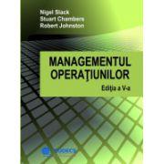Managementul Operatiunilor - Editia a V-a