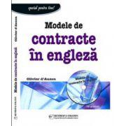 Modele de contracte in engleza + CD