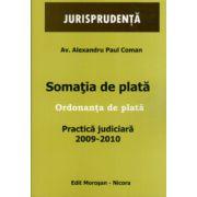 Somatia de Plata - Ordonanta de Pata - Practica Judiciara