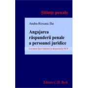 Angajarea raspunderii penale a persoanei juridice