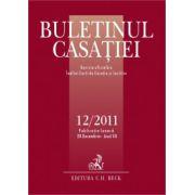 Buletinul Casatiei, nr. 12/2011