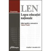 Legea educatiei nationale