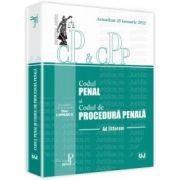 Codul penal si Codul de procedura penala. Actualizat la 25 Ianuarie 2012