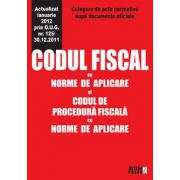 Codul fiscal cu norme de aplicare si codul de procedura fiscala cu norme de aplicare
