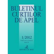 Buletinul Curtilor de Apel, Nr. 1/2012