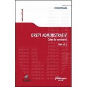 Drept administrativ. Caiet de seminarii