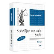 Societati comerciale - Studii - Conform noului Cod Civil