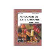 Antologie de texte literare Clasa a VIII-a
