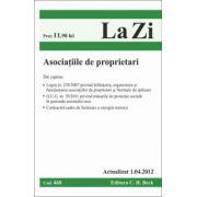 Asociatiile de proprietari - Actualizat la 1.04.2012