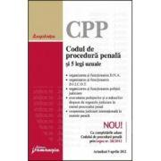 Codul de procedura penala si 5 legi uzuale - Actualizat 5 aprilie 2012