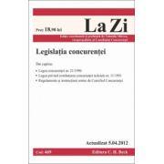 Legislatia concurentei - Actualizat la 5.04.2012