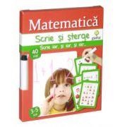Matematica - Scrie si sterge 3-5 ani