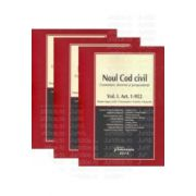 Noul Cod civil - Comentarii, doctrina, jurisprudenta - 3 Volume