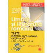Limba si literatura romana - Teste pentru evaluarea nationala 2012. Clasa a VIII-a