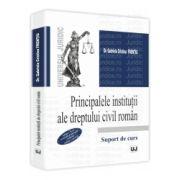 Principalele institutii ale dreptului civil roman. Editia a II-a