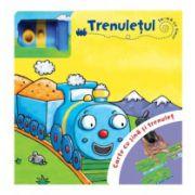 Trenuletul - Carte cu sina si trenulet