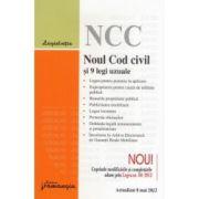 Noul Cod civil si 9 legi uzuale - Actualizat la 8 Mai 2012