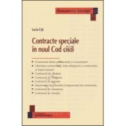 Contracte speciale in noul Cod civil