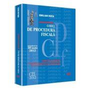 Codul de procedura fiscala - Actualizat la 10 iunie 2012