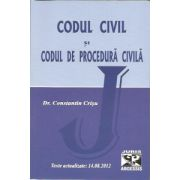 Codul civil si codul de procedura civila. Texte actualizate. 14.08.2012