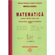 Matematica - Manual pentru clasa a XI-a, Trunchi conum+curriculum diferentiat (3 ore)
