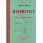 Matematica - Manual pentru clasa a XI-a, Trunchi comun + curriculum diferentiat (4 ore)