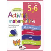 Activitati matematice, fise pentru munca independenta, 5-6 ani