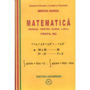 Matematica - Manual pentru clasa a XII-a, Profil M2