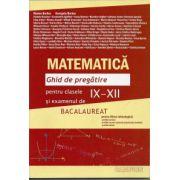 Bacalaureat 2013 Matematica. Ghid de pregatire pentru clasele IX-XII si examenul de bacalaureat ( filiera tehnologica) pentru tara