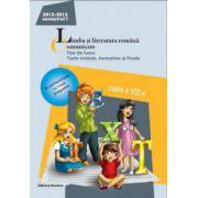 Limba si literatura romana. Comunicare - Fise de lucru, teste initiale, formative si finale. Clasa a VII-a, semestrul I (2012-2013)