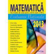 Evaluare nationala 2013 - Matematica