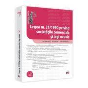 Legea nr. 31/1990 privind societatile comerciale si legi uzuale Ad litteram - Actualizat 1 octombrie 2012