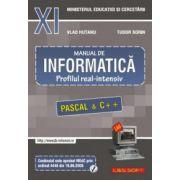 Manual de Informatica, clasa a XI-a, profilul real-intensiv
